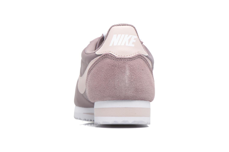 Baskets Nike Wmns Classic Cortez Nylon Violet vue droite