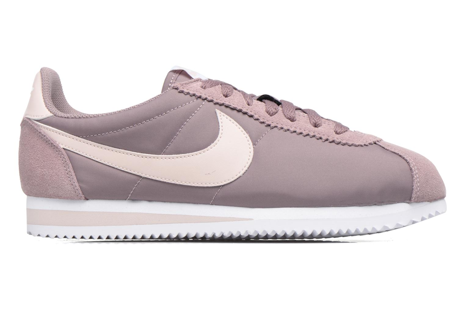 Wmns Classic Cortez Nylon Taupe Grey/Silt Red-White