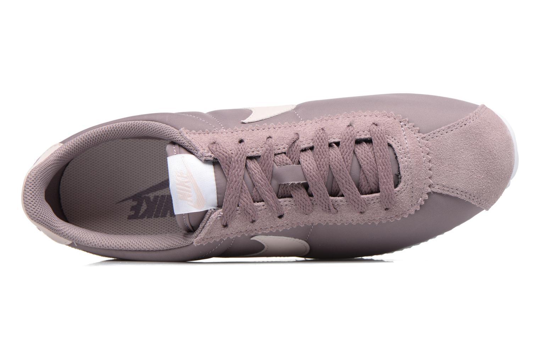 Baskets Nike Wmns Classic Cortez Nylon Violet vue gauche