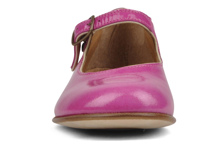 Ballerines PèPè Palombra Rose vue portées chaussures