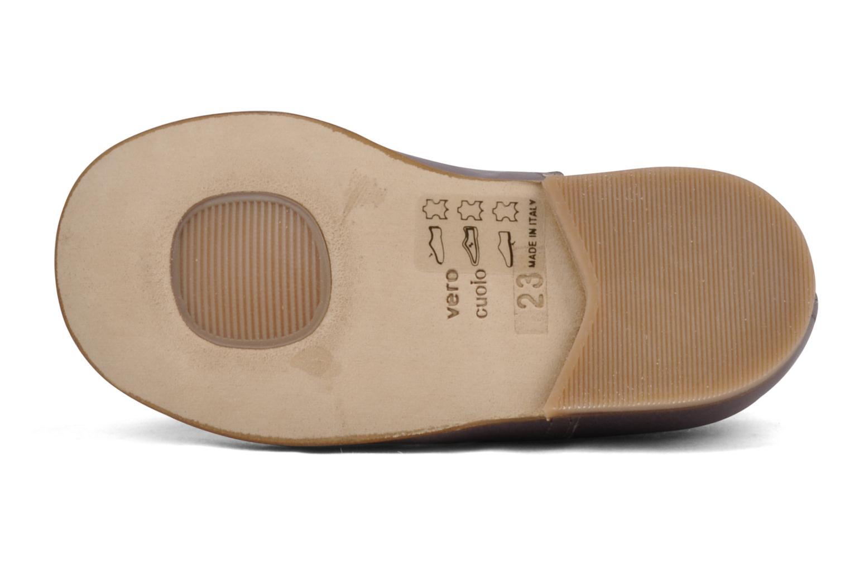 Zapatos con cordones PèPè Coma Violeta      vista de arriba