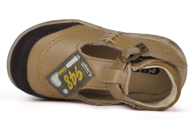 Bottines et boots GBB Leopold Marron vue gauche