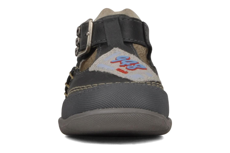 Stiefeletten & Boots GBB Leopold grau schuhe getragen