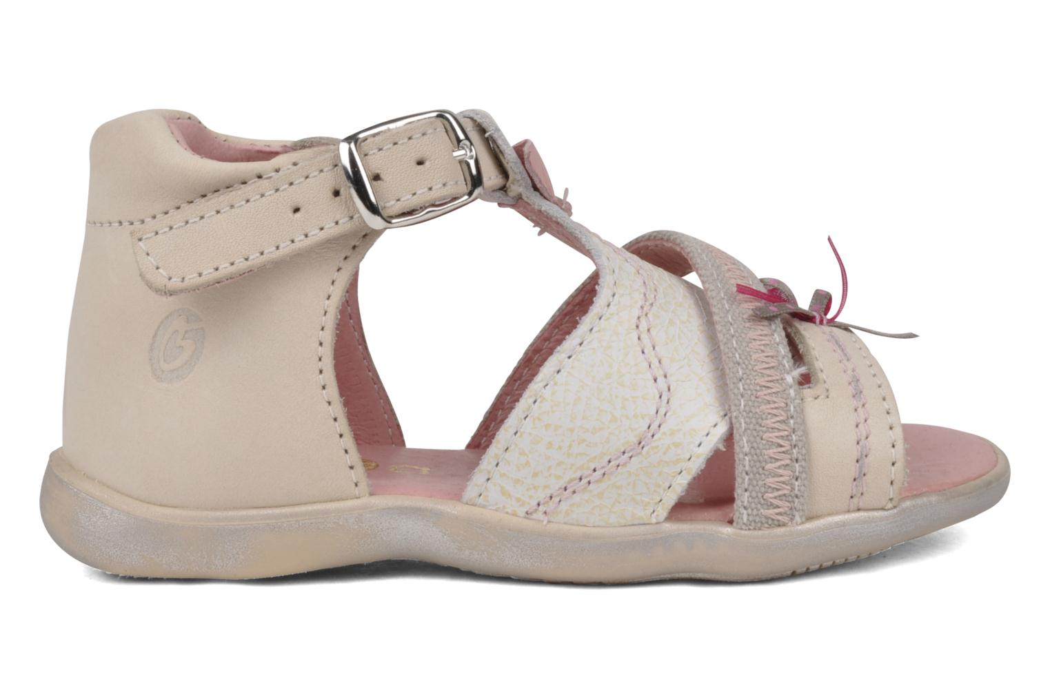Sandals GBB Lorie Beige back view