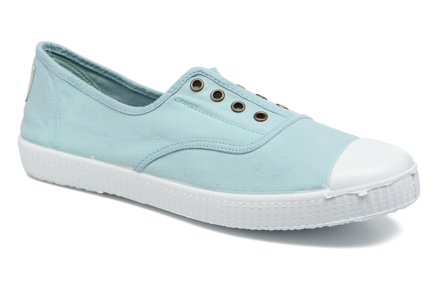 Trainers Victoria Victoria Elastique W Green detailed view/ Pair view