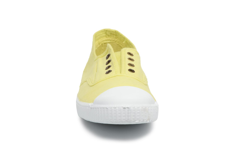 Baskets Victoria Victoria Elastique W Jaune vue portées chaussures