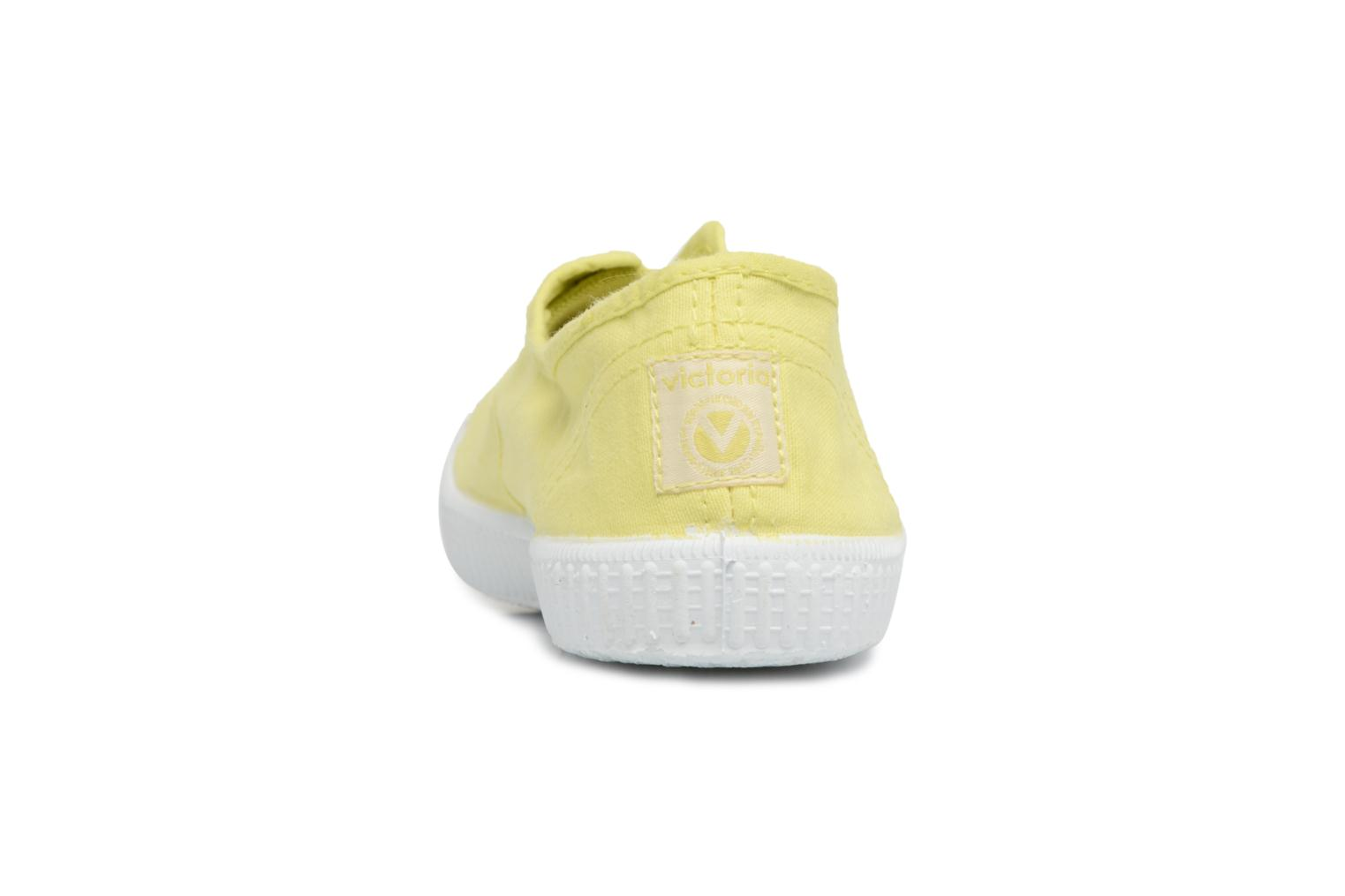 Trainers Victoria Victoria Elastique W Yellow view from the right