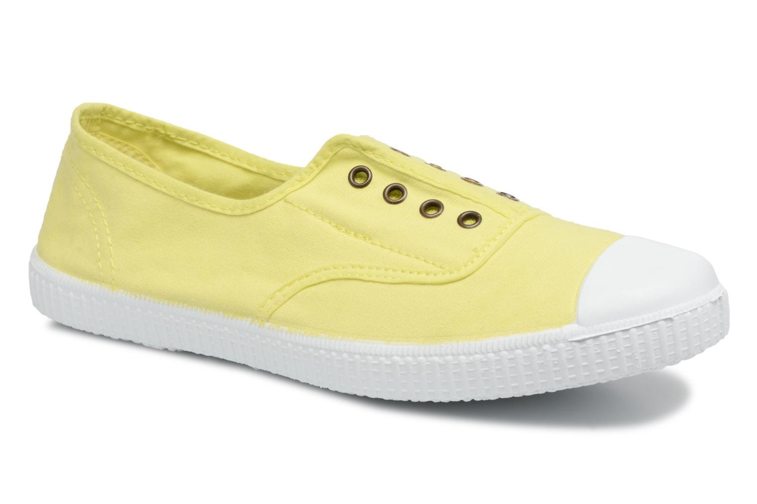Trainers Victoria Victoria Elastique W Yellow detailed view/ Pair view
