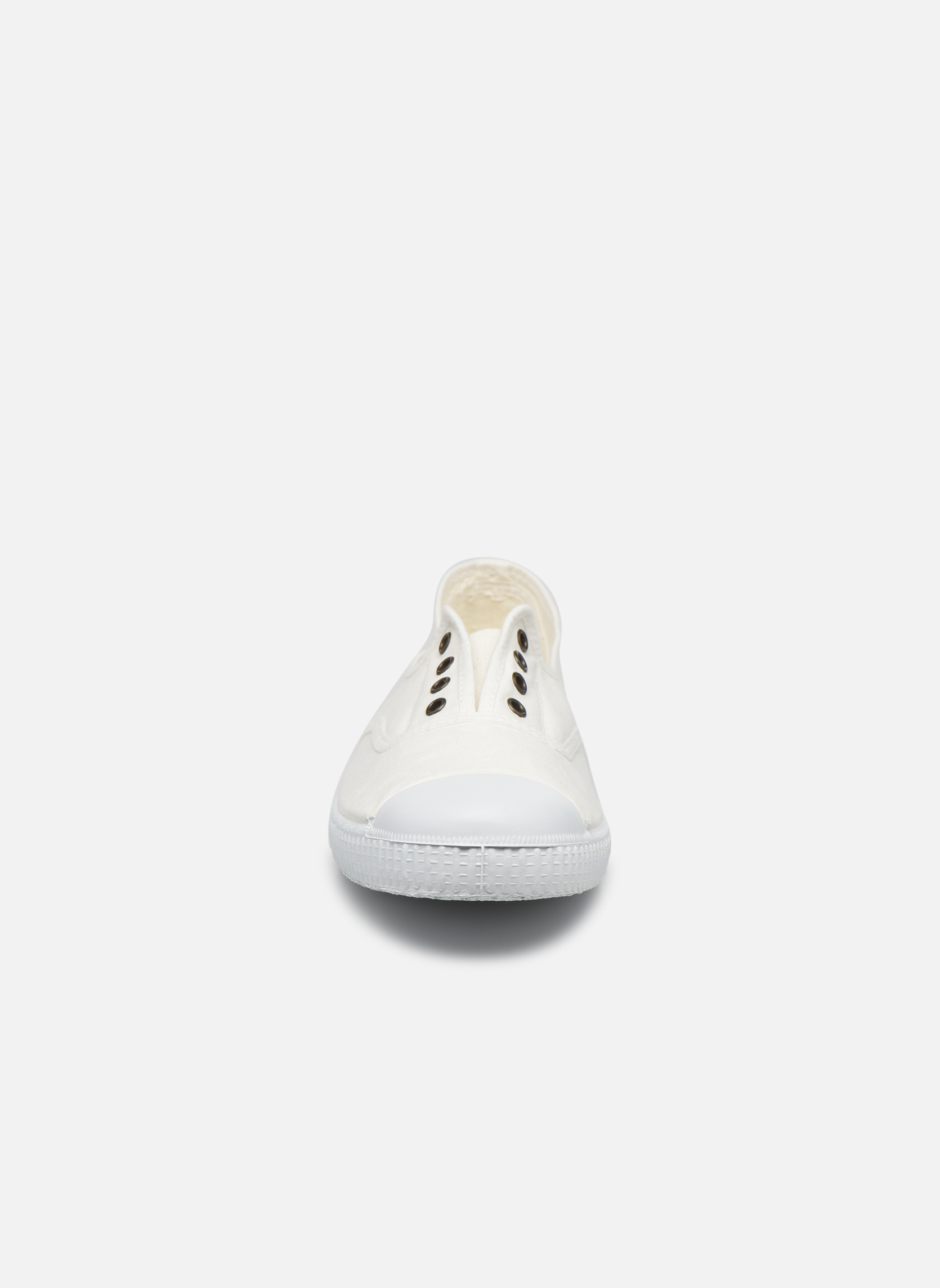 Sneaker Victoria Victoria Elastique W weiß schuhe getragen