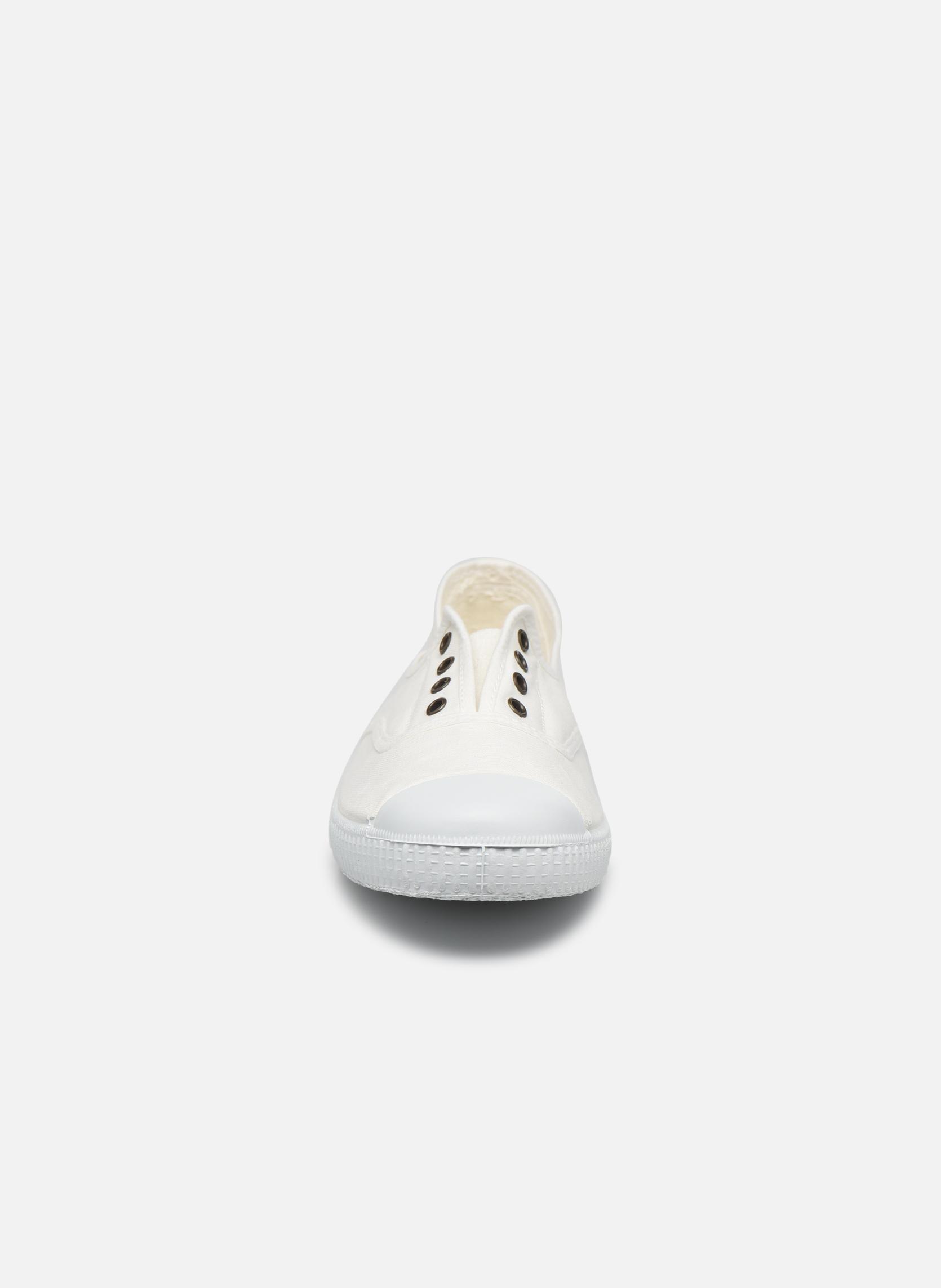 Baskets Victoria Victoria Elastique W Blanc vue portées chaussures