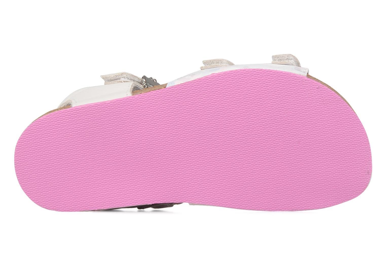 Sandales et nu-pieds Hello Kitty Kijou Blanc vue haut