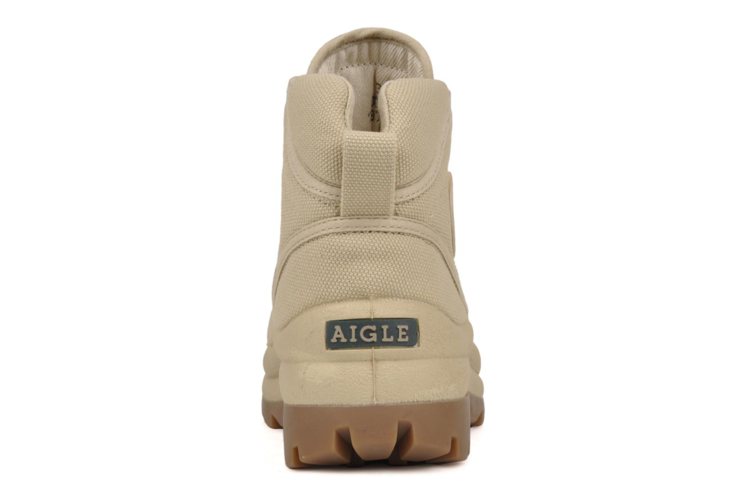 Trainers Aigle Ténéré 2 W Beige view from the right