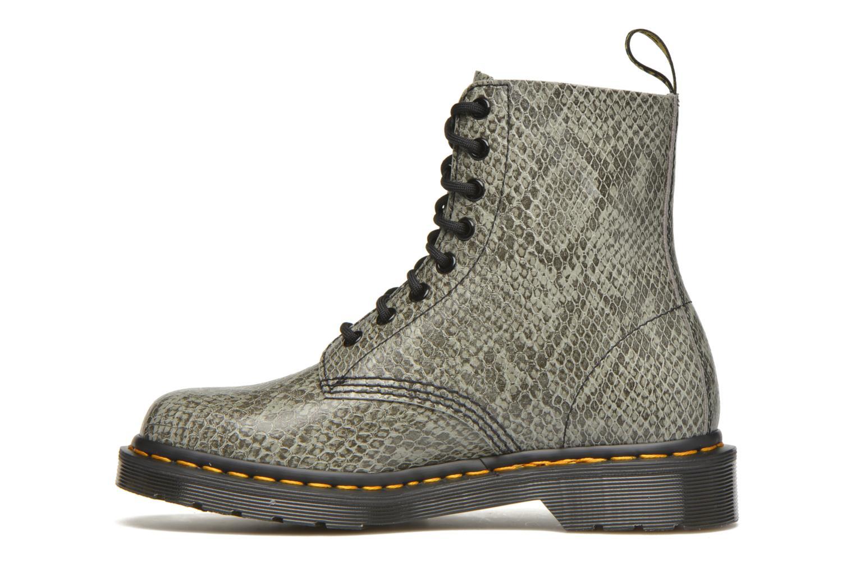 Boots en enkellaarsjes Dr. Martens Pascal W Grijs voorkant