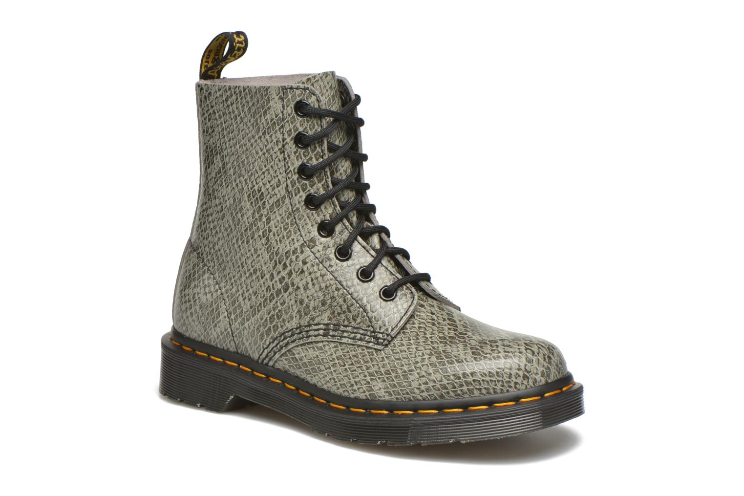 Ankle boots DR. Martens Pascal W Grey detailed view/ Pair view