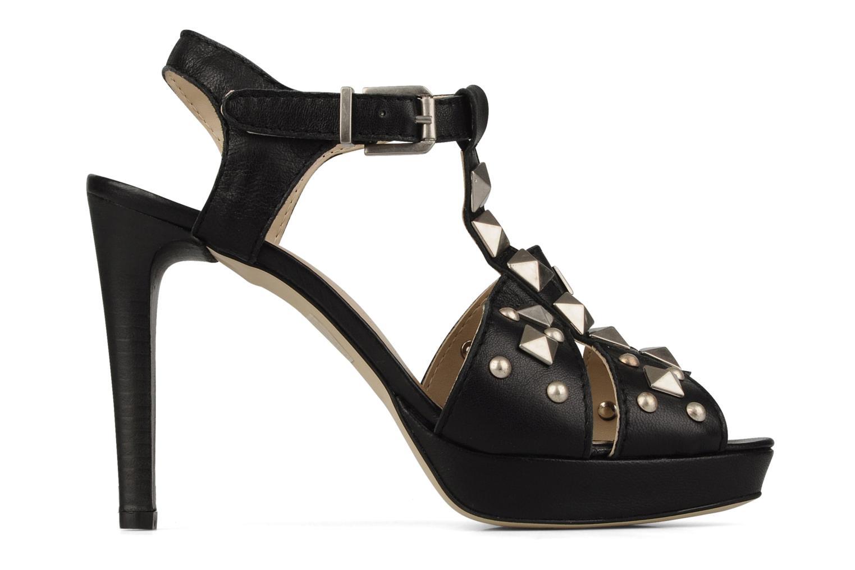 Sandales et nu-pieds Eden Oreade Noir vue derrière