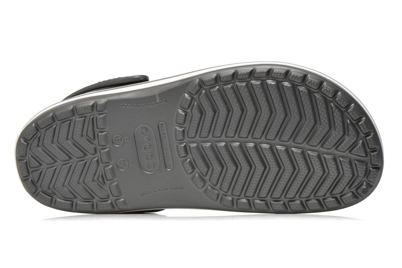 Sandales et nu-pieds Crocs Crocband M Gris vue haut