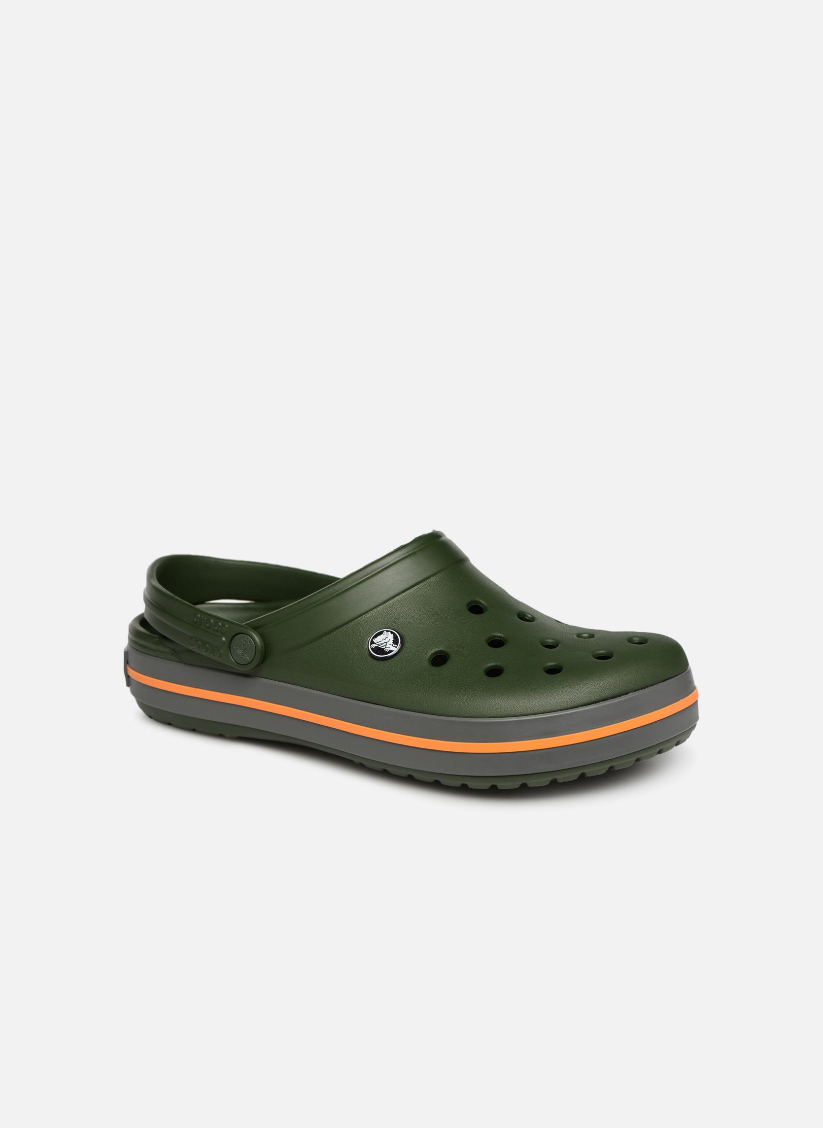 Crocs Crocband M (Vert) - Sandales et nu-pieds chez Sarenza (343011)