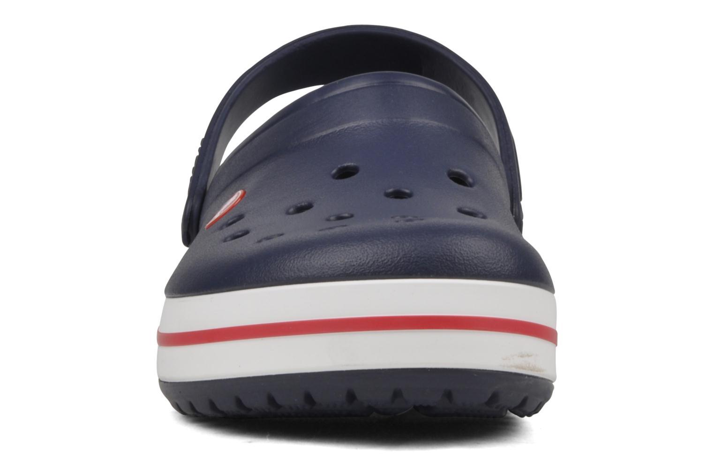 Sandali e scarpe aperte Crocs Crocband M Azzurro modello indossato