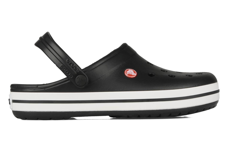 Sandalen Crocs Crocband M schwarz ansicht von hinten