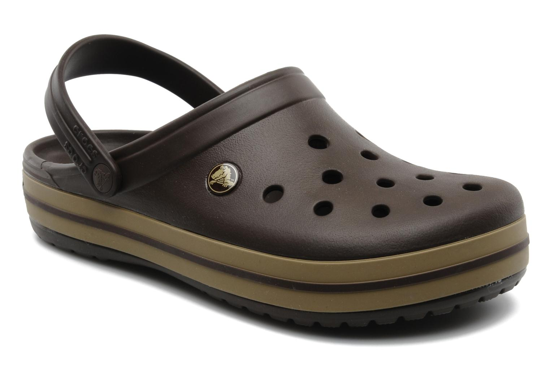 Sandalen Crocs Crocband M Bruin detail