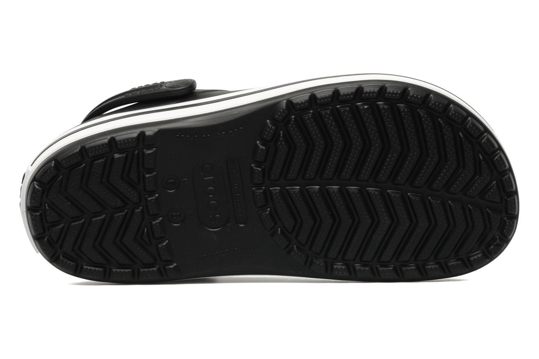 Zoccoli Crocs Crocband W Nero immagine dall'alto