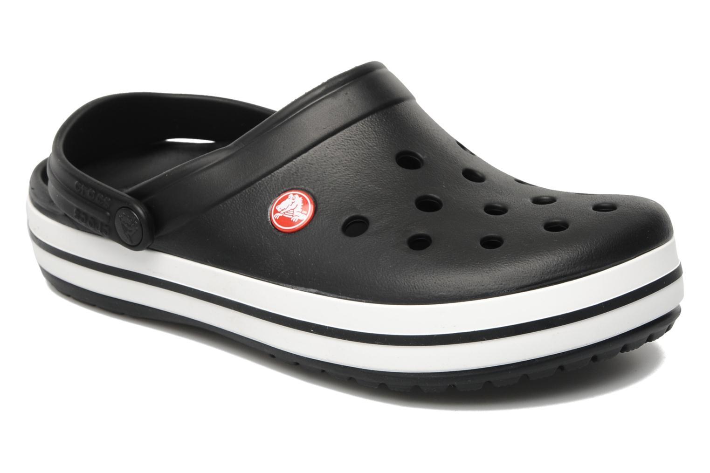 Zuecos Crocs Crocband W Negro vista de detalle / par