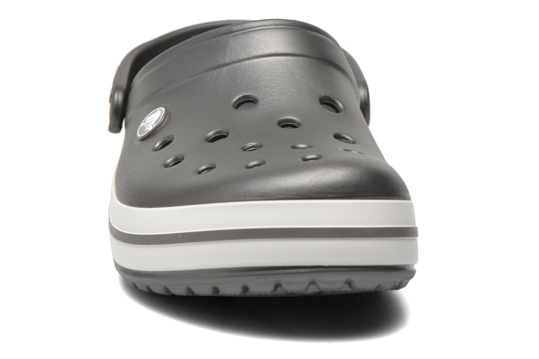 Mules et sabots Crocs Crocband W Gris vue portées chaussures