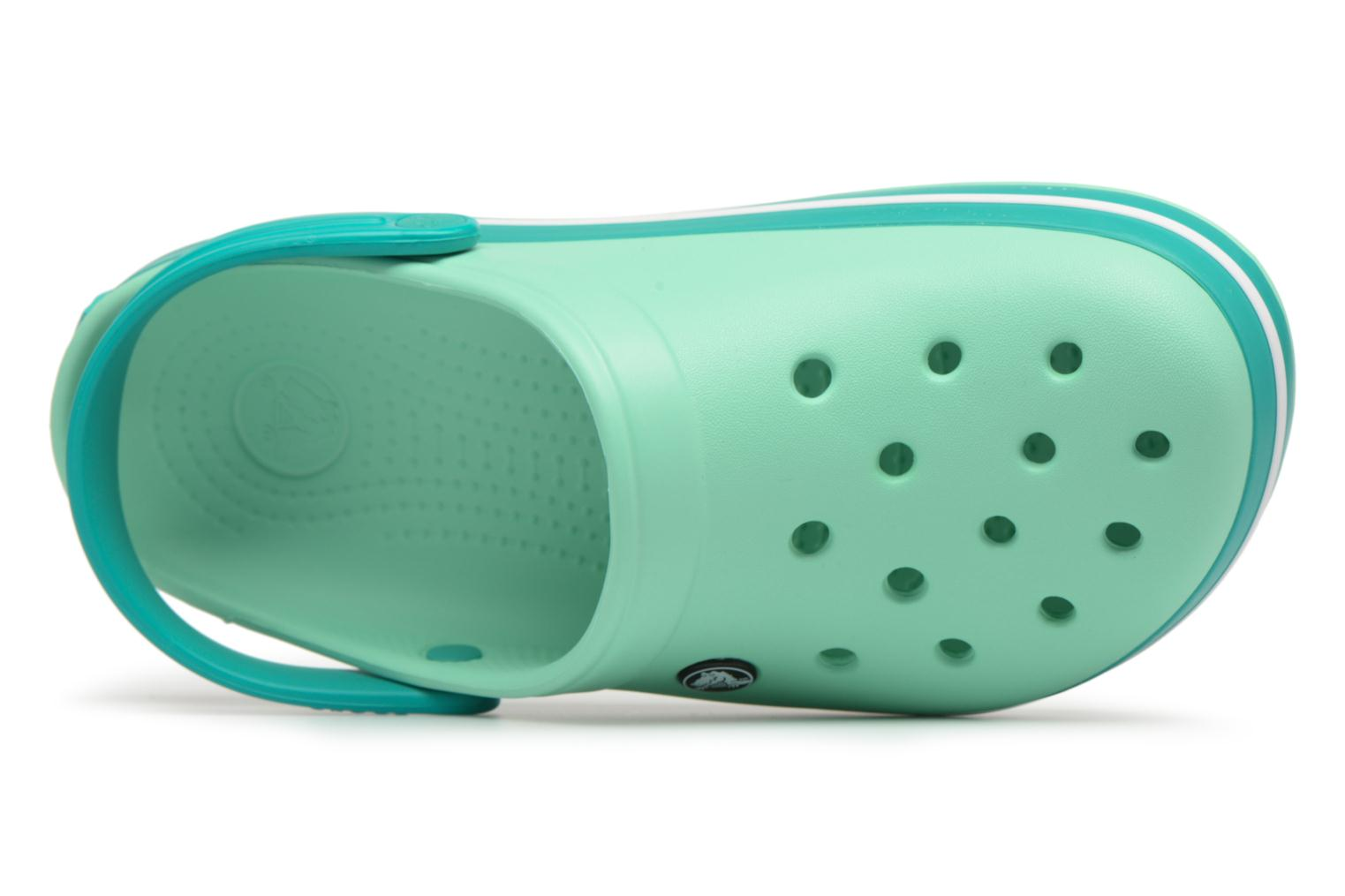 Mules & clogs Crocs Crocband W Green view from the left