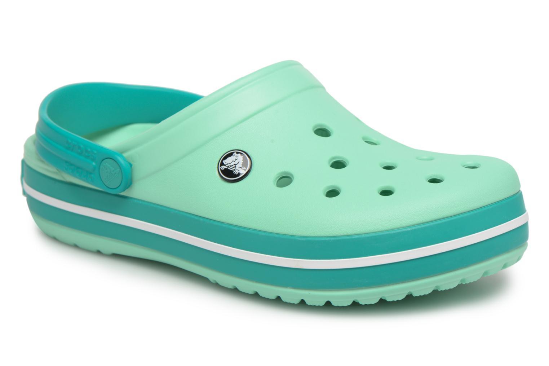 Grandes descuentos últimos zapatos Crocs Crocband W (Verde) - Zuecos Descuento