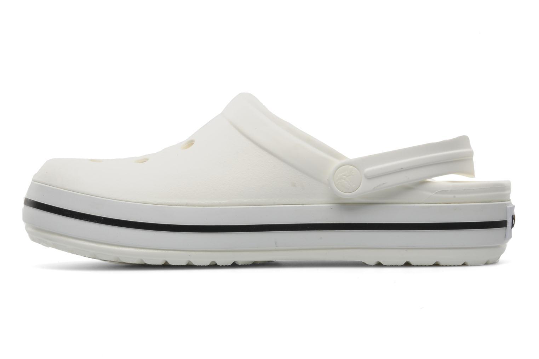 Zoccoli Crocs Crocband W Bianco immagine frontale