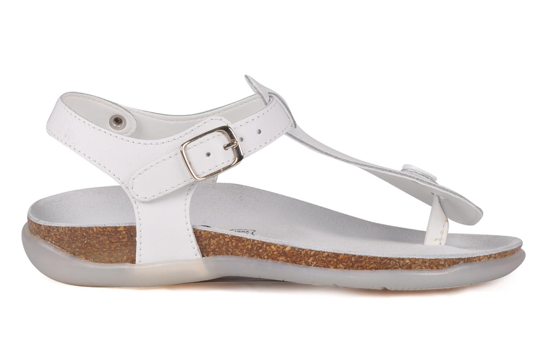 Sandales et nu-pieds Primigi Pianosa Blanc vue derrière