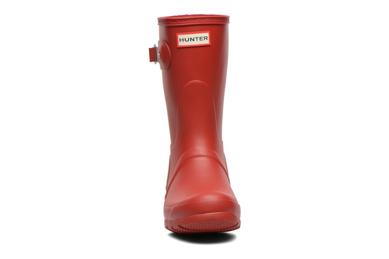 Boots Hunter Original Short Röd bild av skorna på