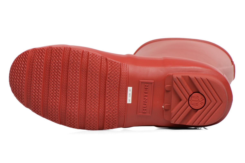 Boots Hunter Original Short Röd bild från ovan