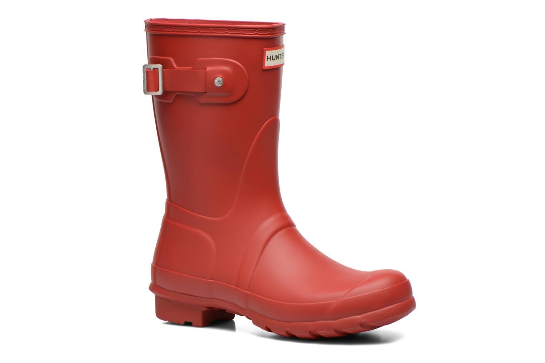 Boots Hunter Original Short Röd detaljerad bild på paret