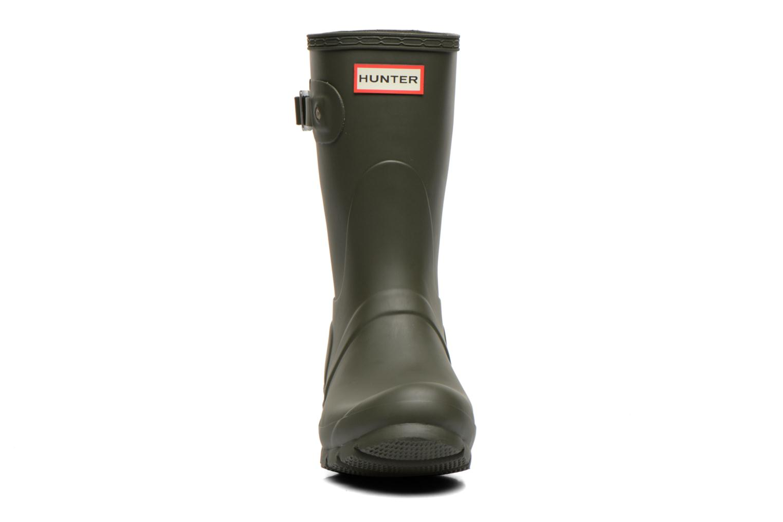 Bottines et boots Hunter Original Short Vert vue portées chaussures
