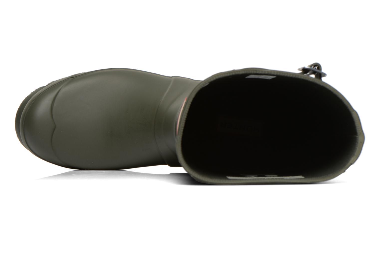 Bottines et boots Hunter Original Short Vert vue gauche