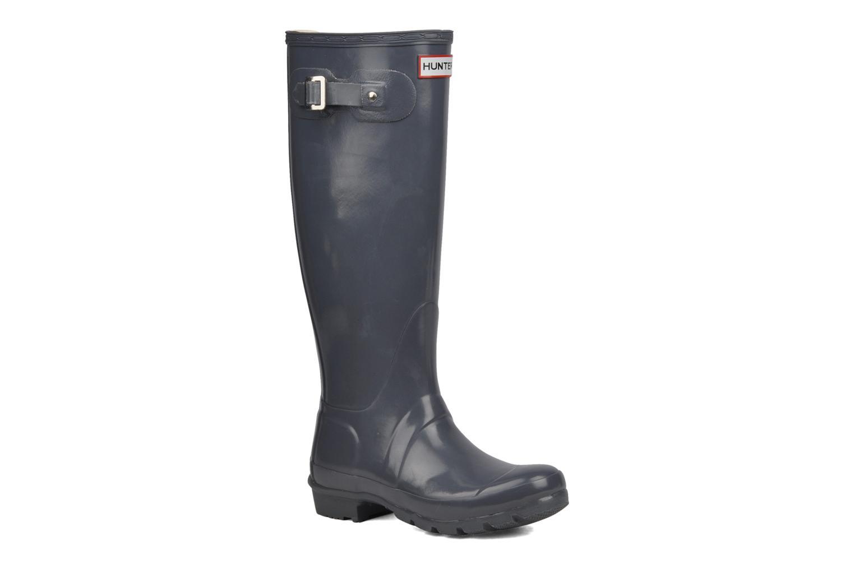Boots & wellies Hunter Hunter Original Gloss W Grey detailed view/ Pair view