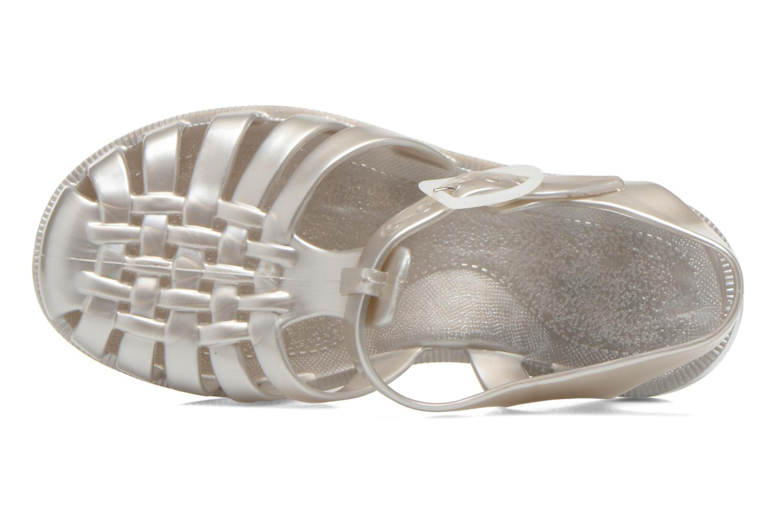 Sport shoes Méduse Sun 201 Silver view from the left