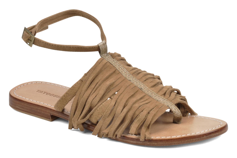 Sandales et nu-pieds Tatoosh Ava Beige vue détail/paire