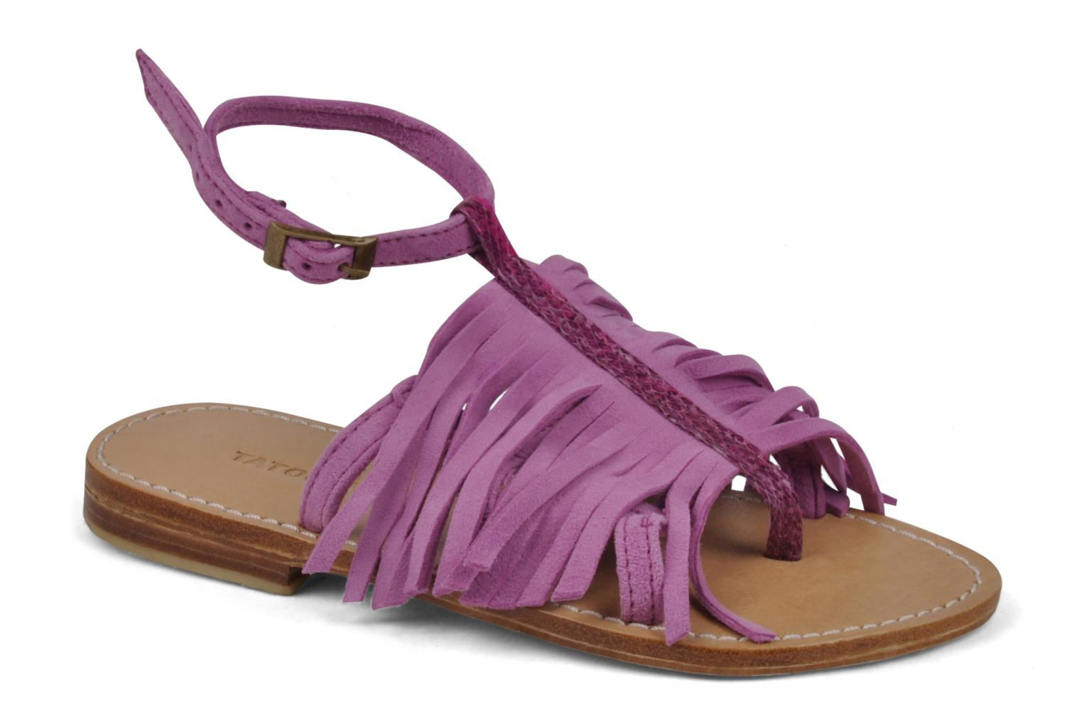 Sandals Tatoosh Ava Kids Pink detailed view/ Pair view