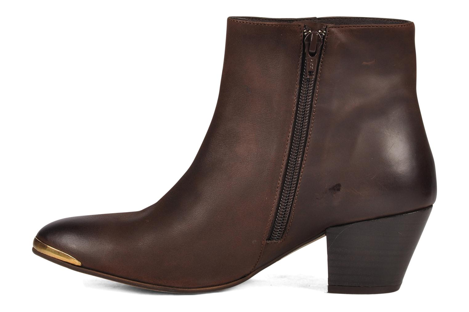 Bottines et boots Jonak Doddy Marron vue face