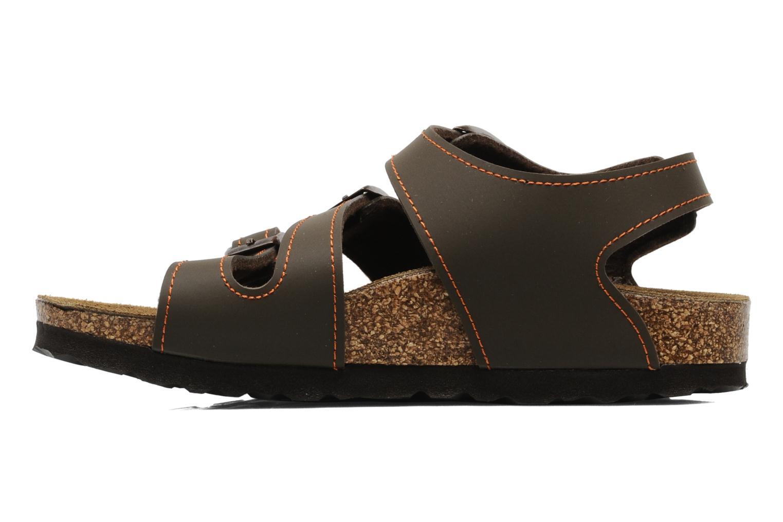Sandales et nu-pieds Birki's Ellice E Marron vue face