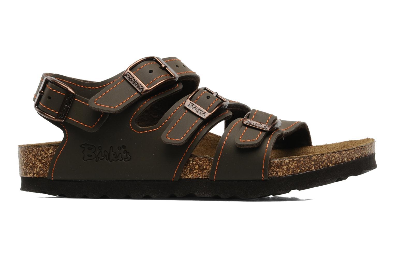 Sandales et nu-pieds Birki's Ellice E Marron vue derrière