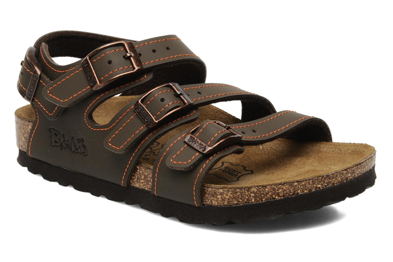 Sandales et nu-pieds Birki's Ellice E Marron vue détail/paire