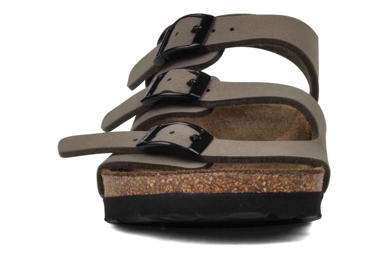 Sandalen Birki's Ellice E grau schuhe getragen