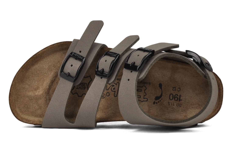 Sandalen Birki's Ellice E grau ansicht von links