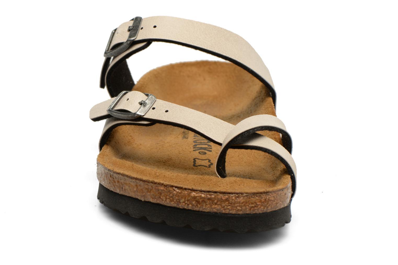 Mules et sabots Birkenstock Mayari W Gris vue portées chaussures