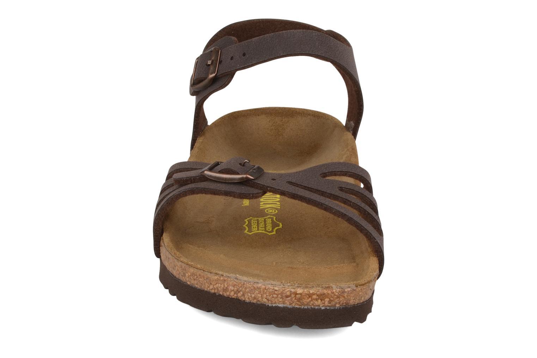 Sandals Birkenstock Bali W Brown model view