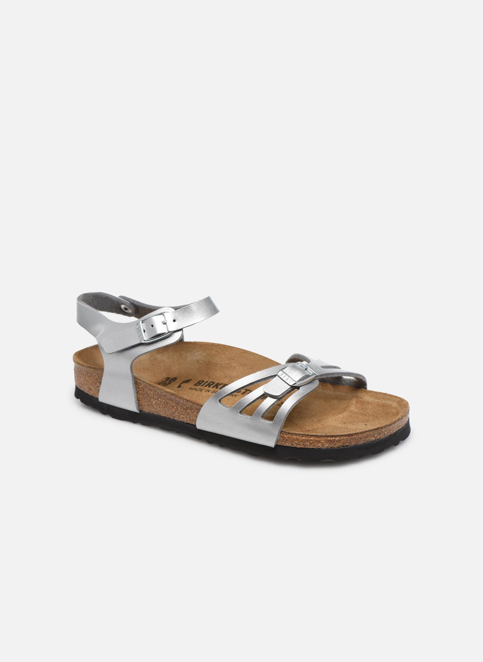 Sandales et nu-pieds Birkenstock Bali W Argent vue détail/paire