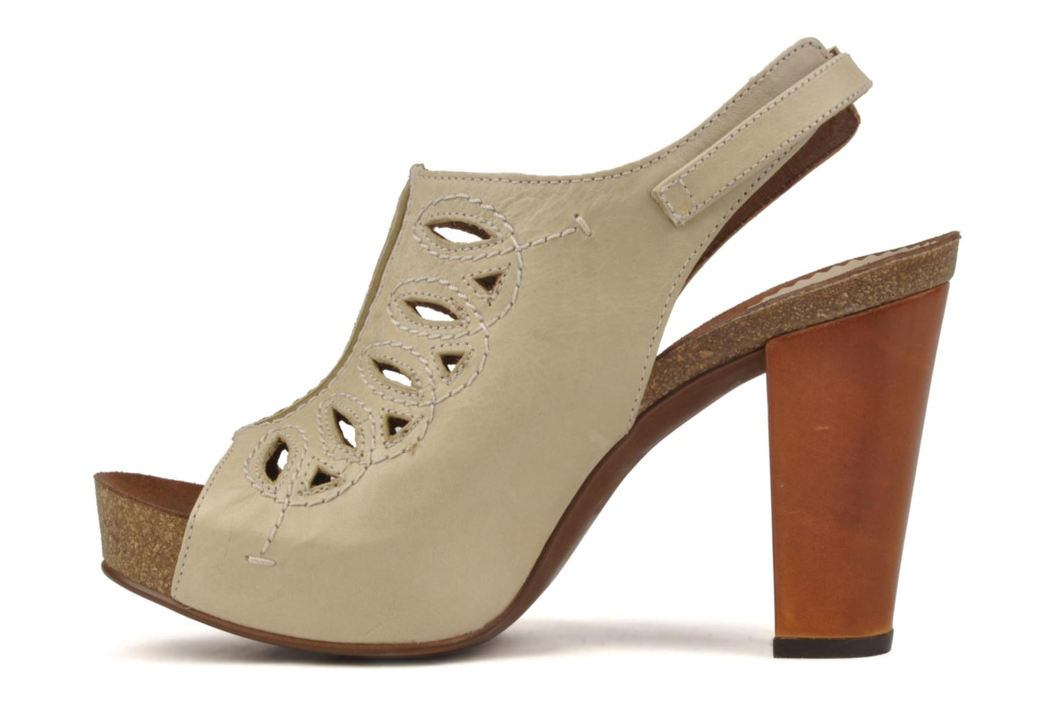 Sandals Jeffrey Campbell Tohill Beige front view